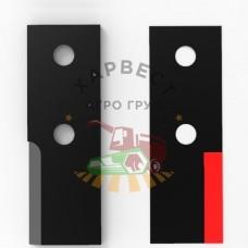 Нож для разбрасывателя Brochard с наплавкой (правый)