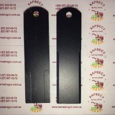 Нож измельчителя комбайна Claas 0600300 с наплавкой