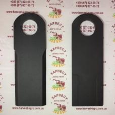 Нож измельчителя комбайна Claas 0656410,065641,353195 с наплавкой