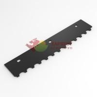 Комплект ножей битера Claas Jaguar 0781810 (4L + 4R) с наплавкой