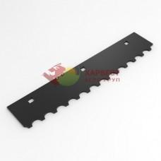Комплект ножей битера Claas Jaguar 0781810, 141490 (4L + 4R) с наплавкой