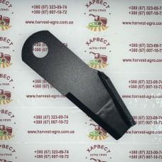 Нож измельчителя комбайна New Holland 87384918 закалка (правый)