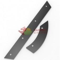 Комплект планок отбойного битера Claas 777629,777615 (12 шт. + 24 шт.)