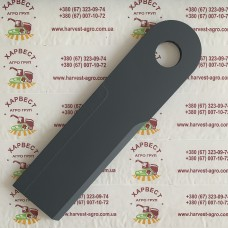 Нож для жатки Optigep (240x60x6) с наплавкой